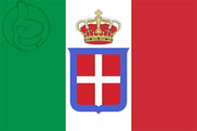 Flag of Kingdom of Italy (1861-1946)