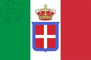 Bandera de Reino de Italia (1861-1946)