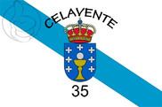Bandera de Galicia Celavente