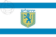 Bandeira do Jerusalém