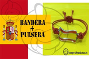 Bandeira do Bandeira Espanha + Pulseira