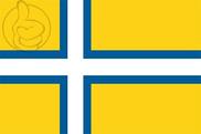 Bandera de Oeste de Suecia