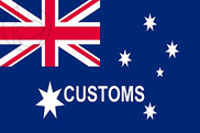 Flag of Australian Customs
