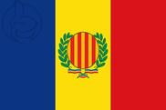 Bandera de San Julián de Loria