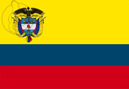 Bandeira do Colombia C/E