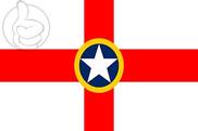 Bandera de Mosta