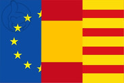 Flag of Europe Spain Catalonia