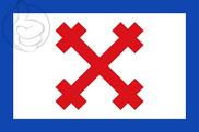 Bandera de Santillán del Agua