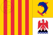 Bandera de Provenza-Alpes-Costa Azul