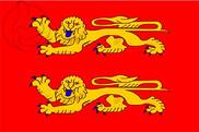 Bandera de Baja Normandía