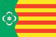 Bandera de Pardines