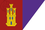 Flag of Castilla la Mancha and Daimiel