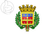 Bandera de Blasón Le Mans (Sarthe)