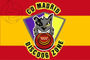 Bandera de España personalizada cd madrid
