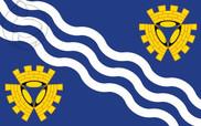 Drapeau de la Merseyside