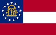 Bandeira do Georgia (Estados Unidos)