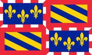 Bandera de Bourgogne