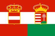 Bandera de Imperio Austro Húngaro