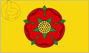 Bandiera di Lancashire