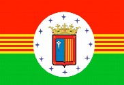 Flag of Sabiñánigo