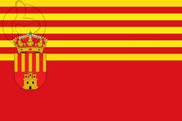 Flag of Alagón (Zaragoza)