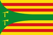 Bandera de Hoz de Jaca