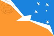Flag of Tierra del Fuego, Antártida e Islas del Atlántico Sur