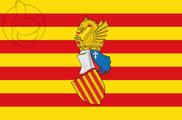 Bandeira do Preautonomía Valenciana
