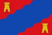 Bandeira do Alhama de Aragón