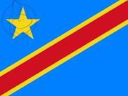 Bandiera di Repubblica Democratica del Congo