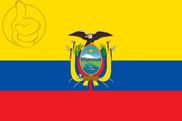 Drapeau de la Equateur