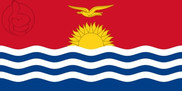 Drapeau de la Kiribati
