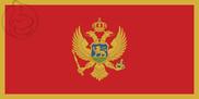 Bandeira do Montenegro