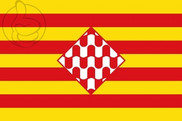 Bandeira do Provincia de Girona