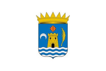 Bandera Benifairó de la Valldigna