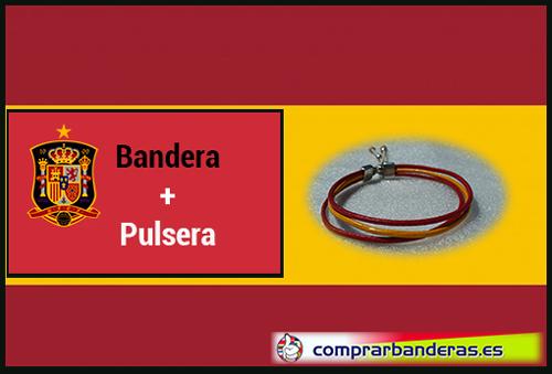 Bandera España + pulsera