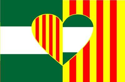 Bandera Cataluña Andalucía