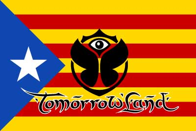Bandera Tomorrowland Estelada