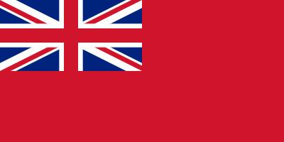 Bandera Reino Unido Naval