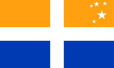 Bandera Islas Sorlingas