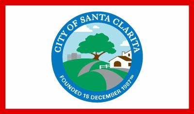 Bandera Santa Clarita (California)