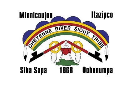 Bandera Tribu Cheyenne River Sioux