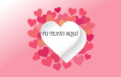 Bandera San Valentín