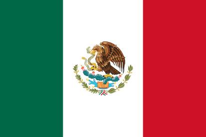 Bandera Messico