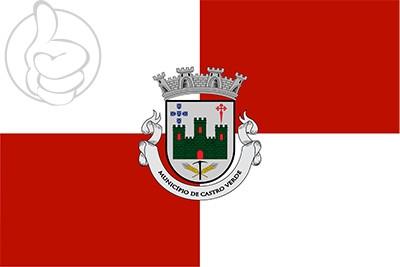 Bandera Castro Verde