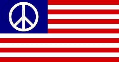Bandera Estados unidos Paz