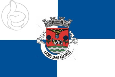 Bandera Lajes das Flores