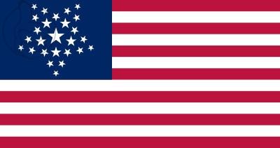 Bandera Estados Unidos GreatStar (1818 - 1819)