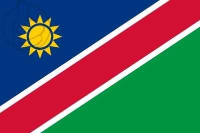 Bandera Namibie