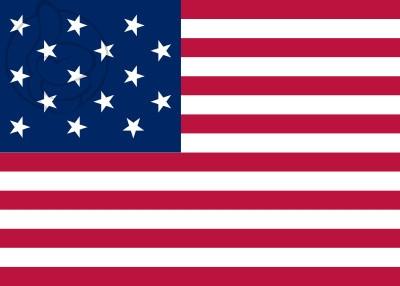 Bandera Estados Unidos (1795 - 1818)